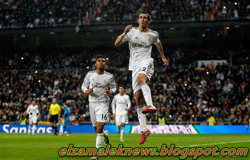 De Maria wing of Real Madrid