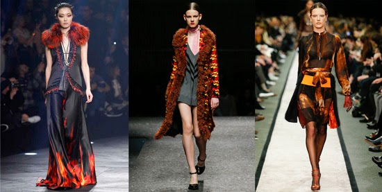 Roberto Cavalli, Prada and Givenchy