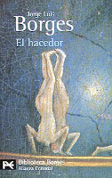 Portada del libro el hacedor de borges microcuentos las uñas y argumentum ornithologicum