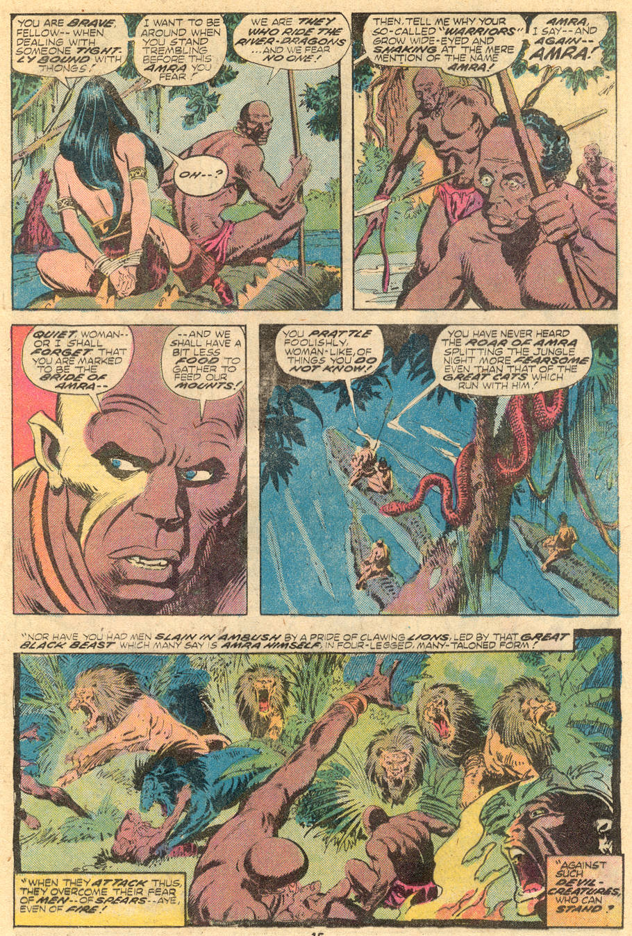 Conan the Barbarian (1970) Issue #61 #73 - English 9