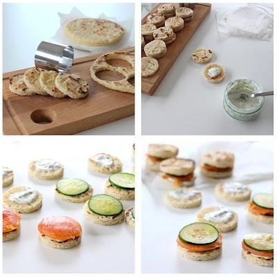 Illustration étape mini sandwich Suédois
