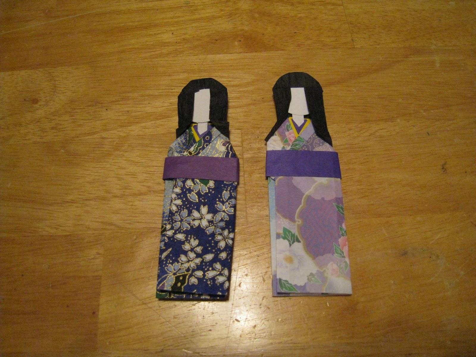 Japanese Paper Dolls Crafts 4 Camp Japanese