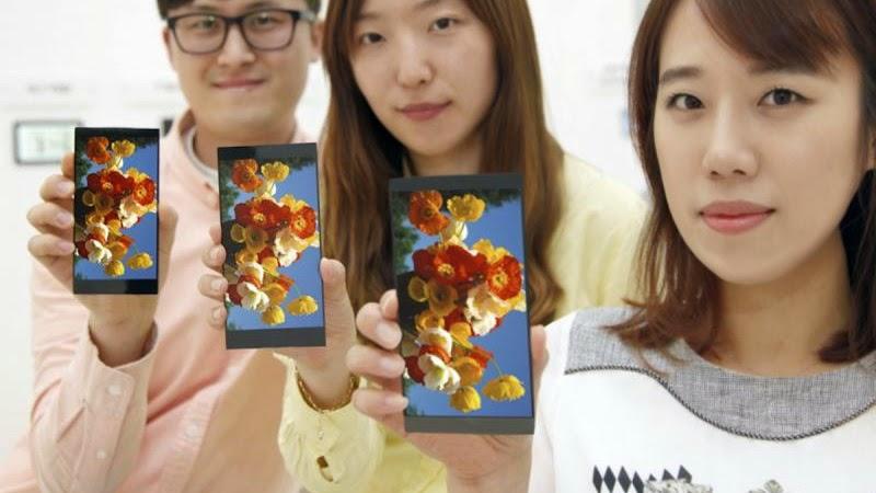 LG G4 Punya Teknologi Layar Lebih Canggih