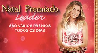 Participar da promoção Leader 2015 Natal Premiado