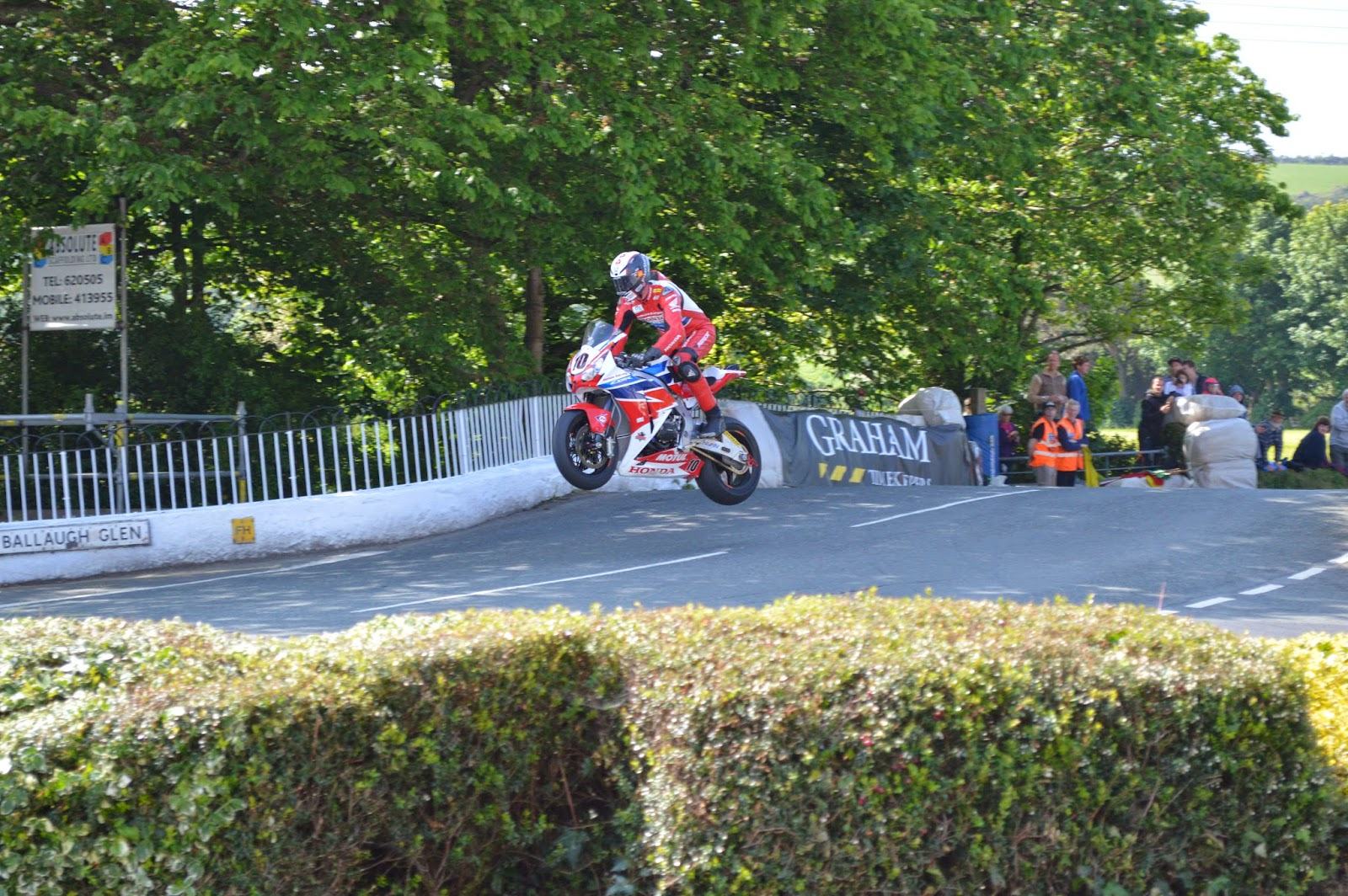 Conor Cummins en Ballaugh Bridge