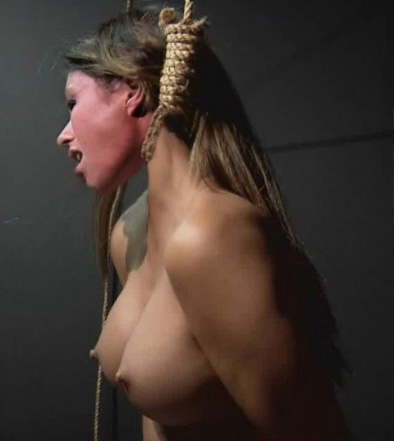 women by sexy neck the hung noose