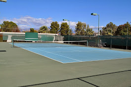 Three Tennis Courts