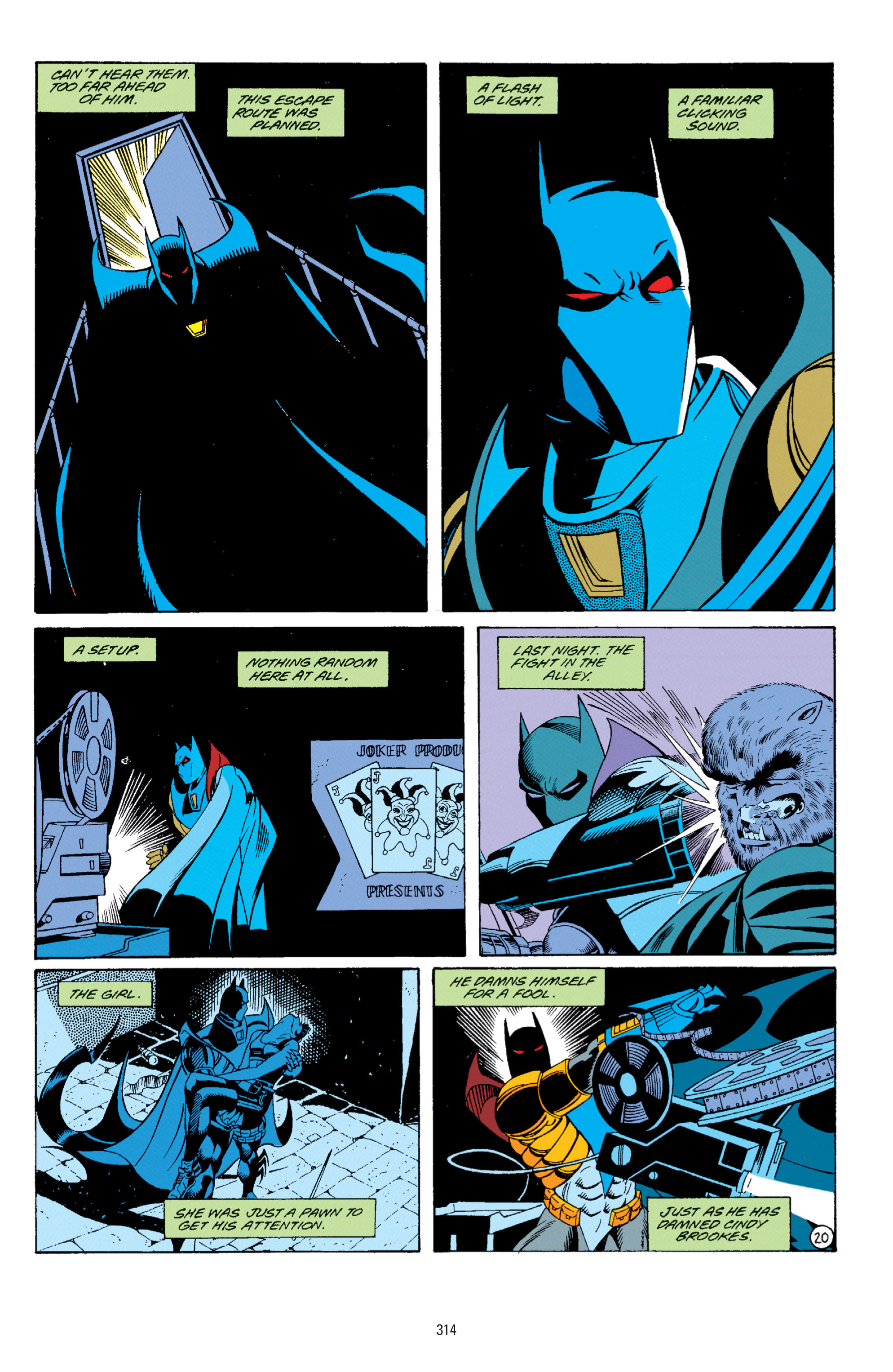 Detective Comics (1937) Issue #671 Page 21