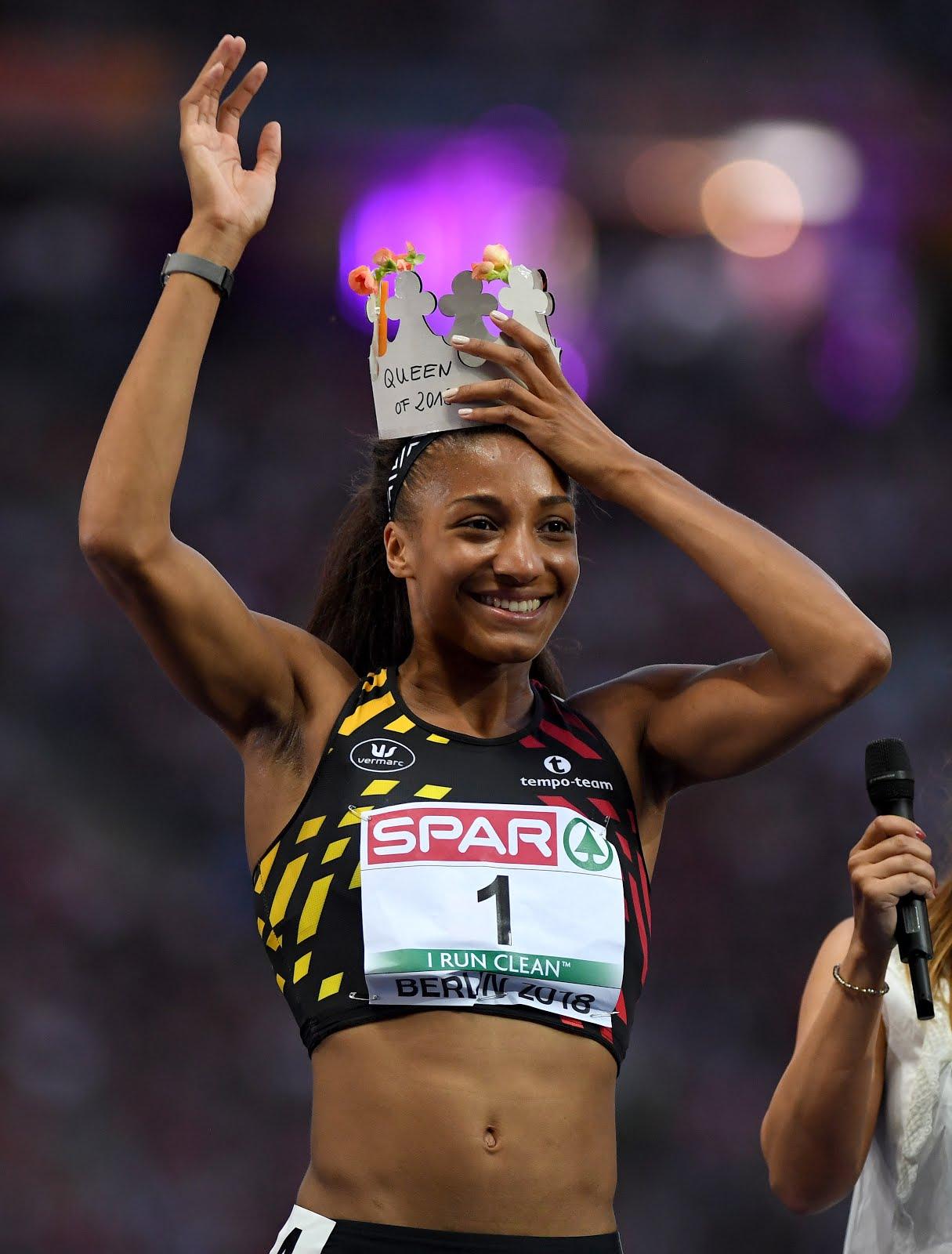 Belgium's Nafissatou Thiam