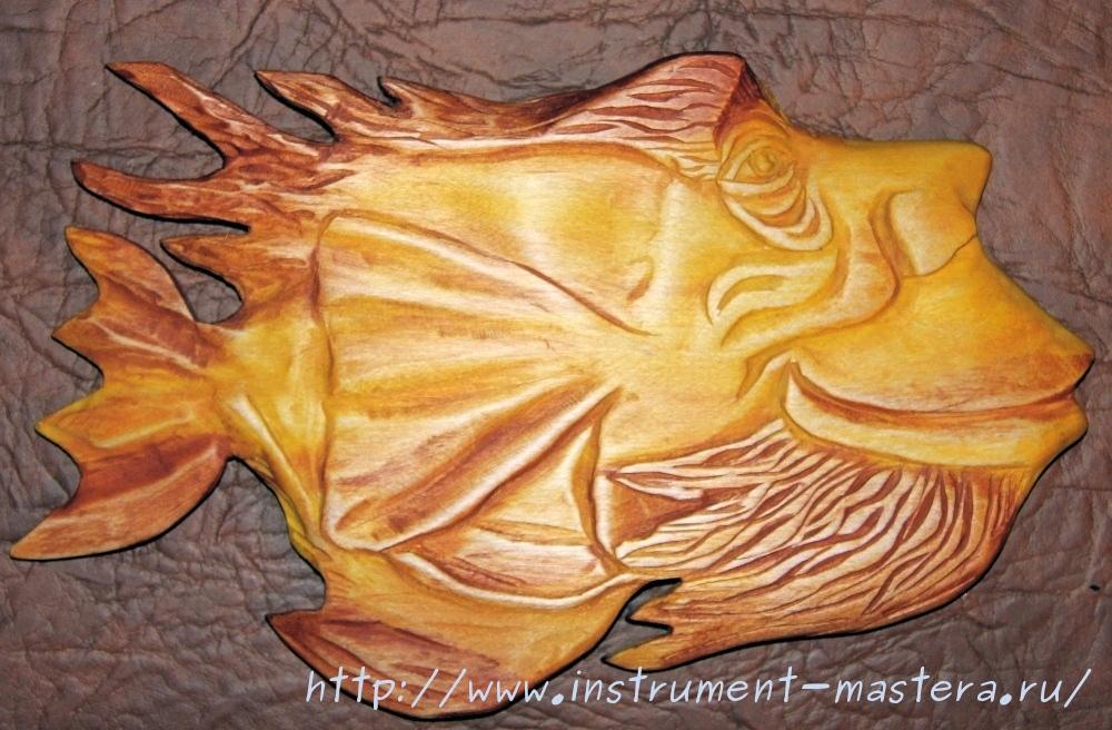 Подарок рыбаку. Деревянные рыбы
