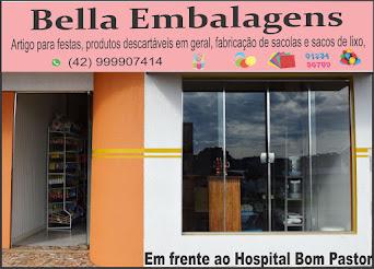Em Turvo agora tem Bella Embalagens.