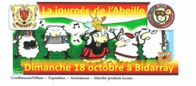 Journée de l'Abeille Bidarray 2015  pays basque
