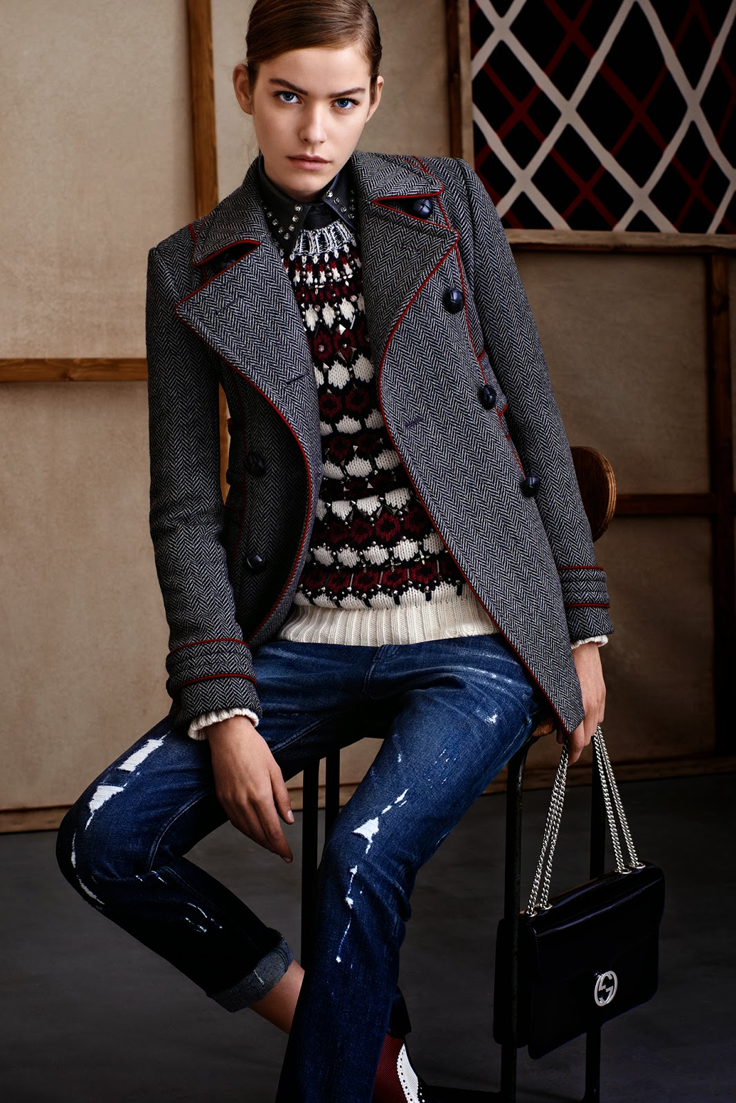Fall fashion clothing women University Images University Communications