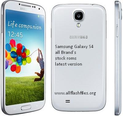 Samsung stock roms galaxy s4