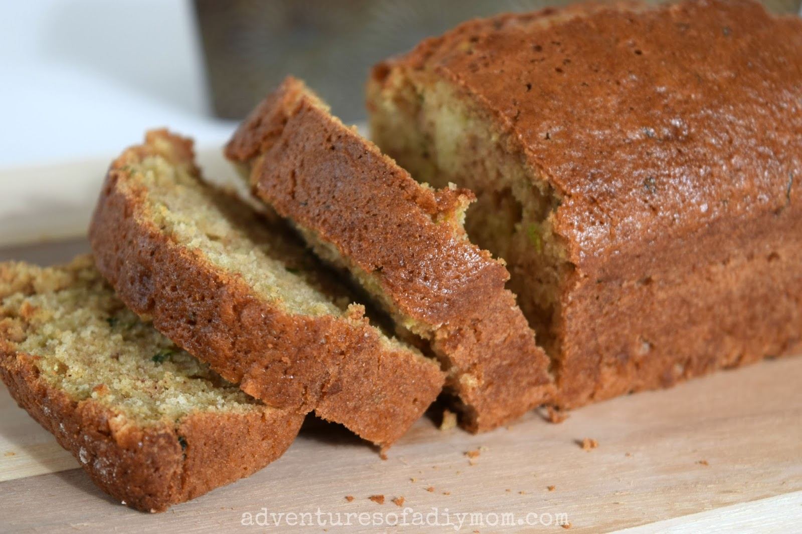 Zucchini Bread Recipe - Adventures of a DIY Mom