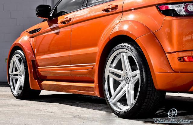 fotos Range Rover Evoque personalizado por Auto final