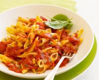 Massa com Molho de Tomates (vegana)