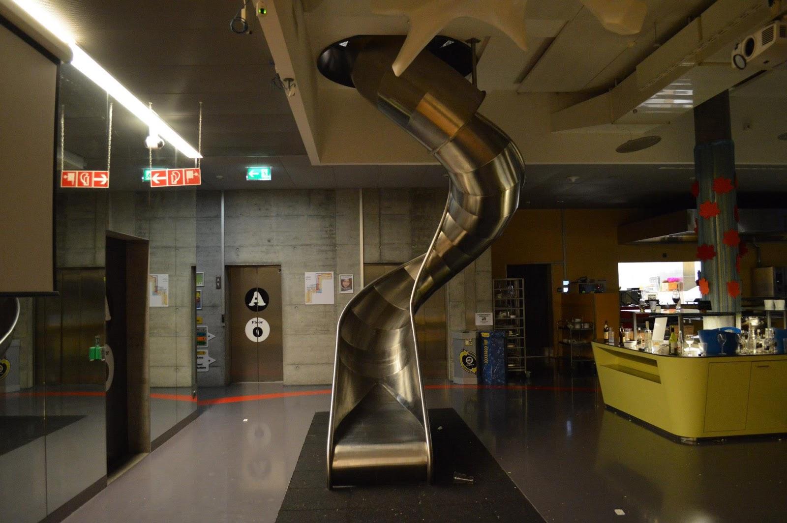 google office switzerland. slide at google office switzerland e