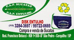 P.A.P SUCATAS P.A.P DISK ENTULHO Compra e venda de Sucatas