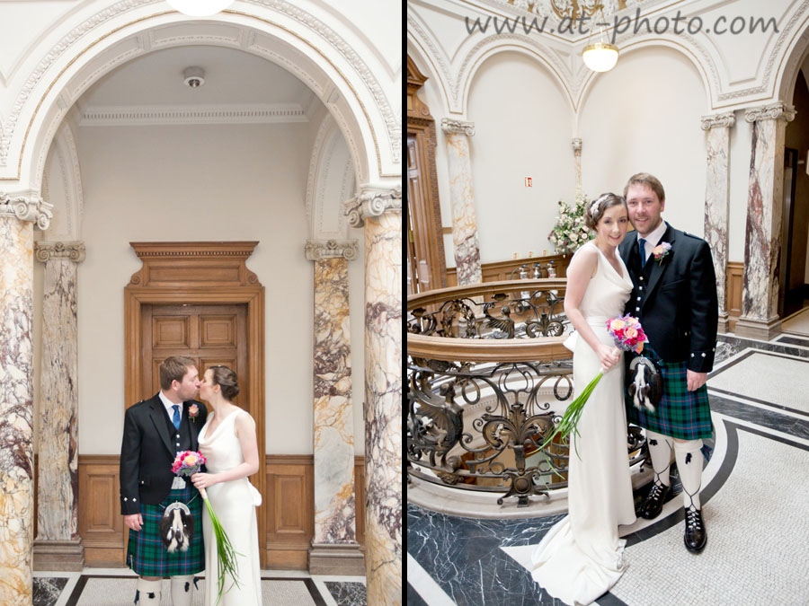 Portobello town hall edinburgh wedding