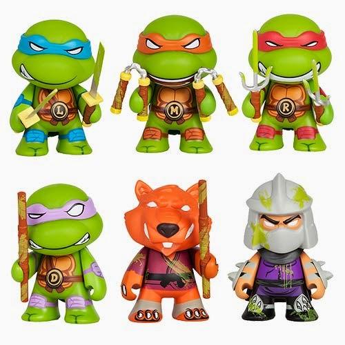 """Mini Ninja Toys : The blot says teenage mutant ninja turtles """"ooze"""