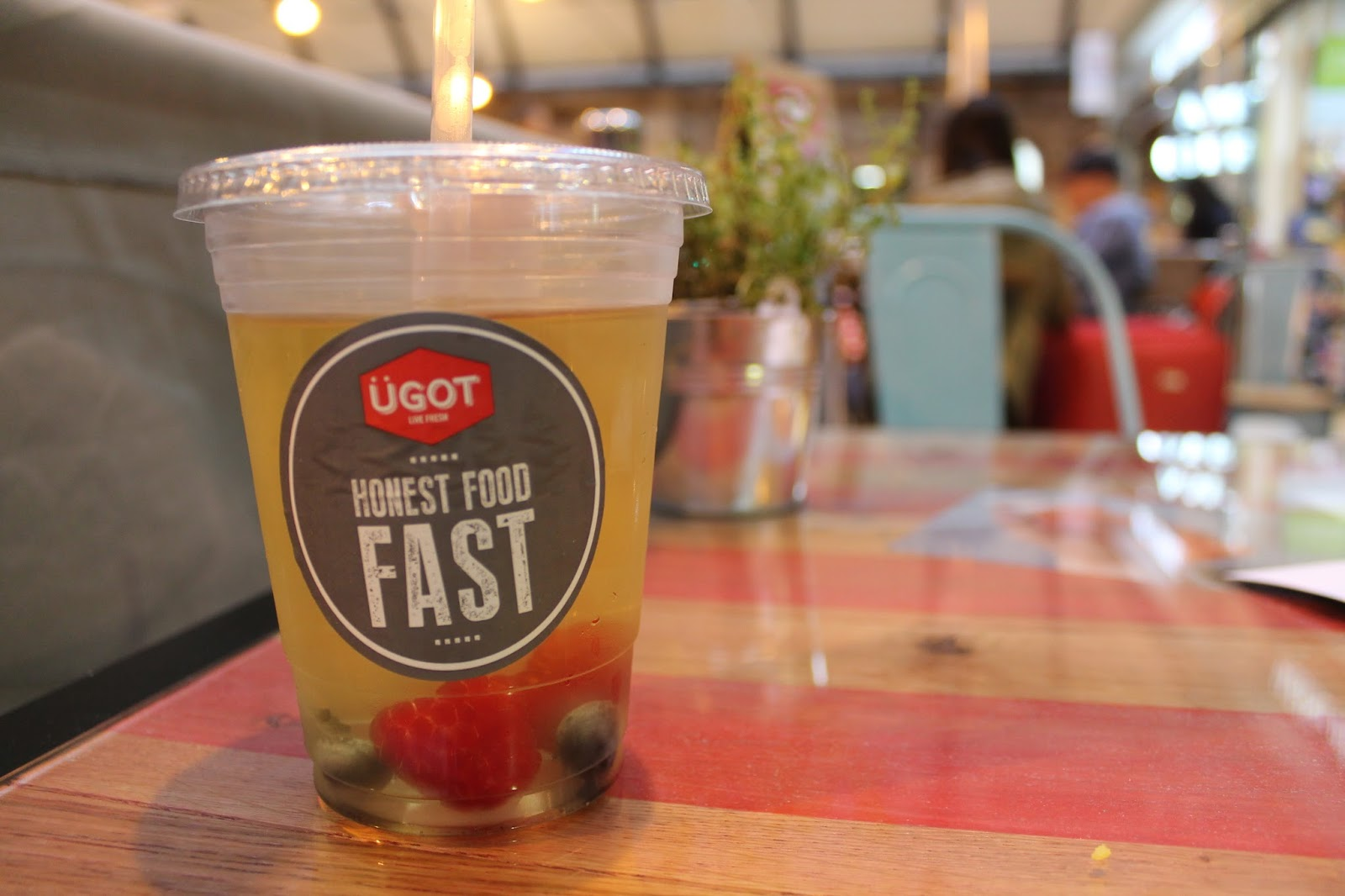 UGOT Food Review - Newcastle Train Station