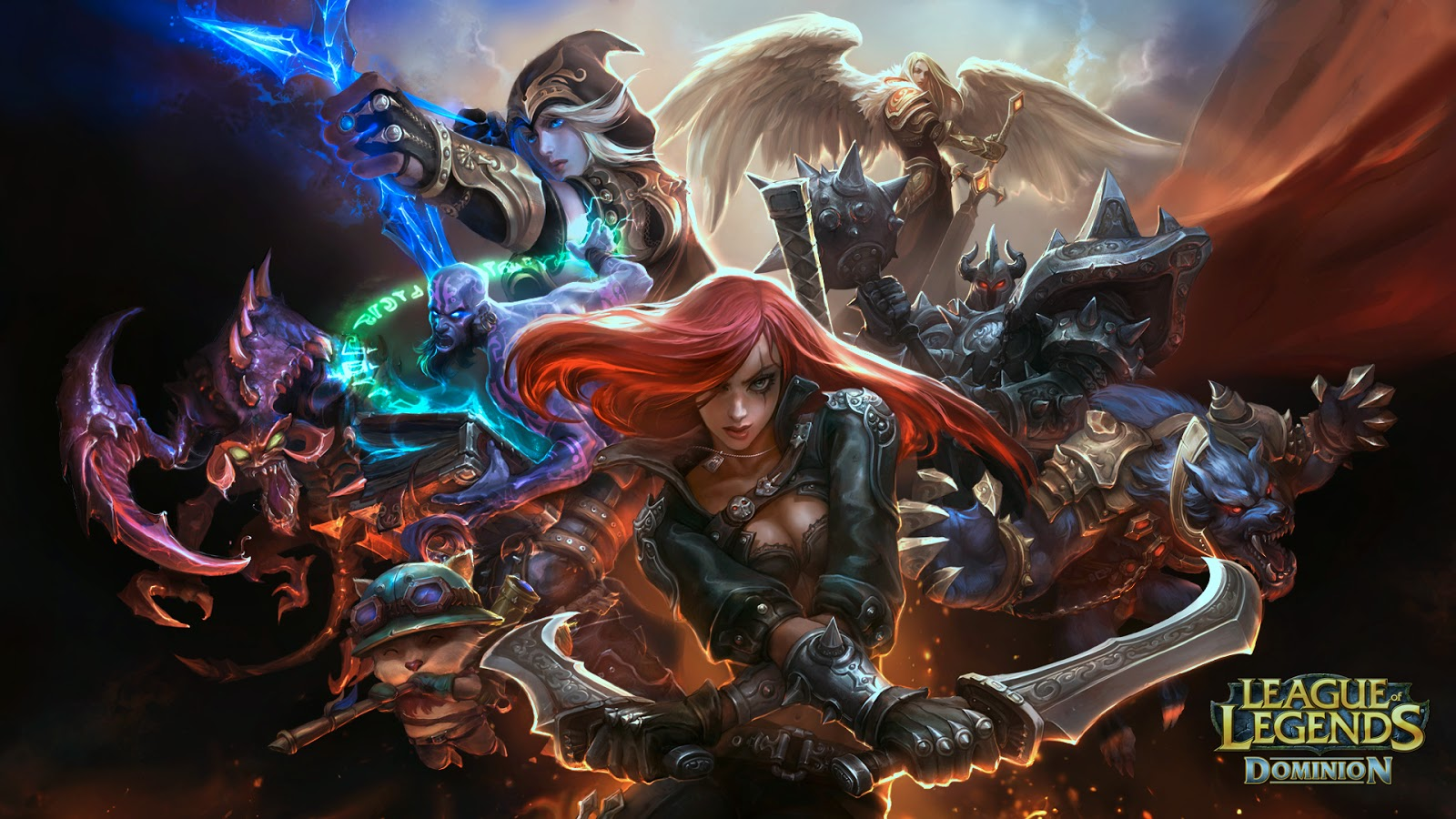 League of Legends Team Wallpaper