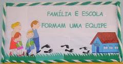 painel familia e escola