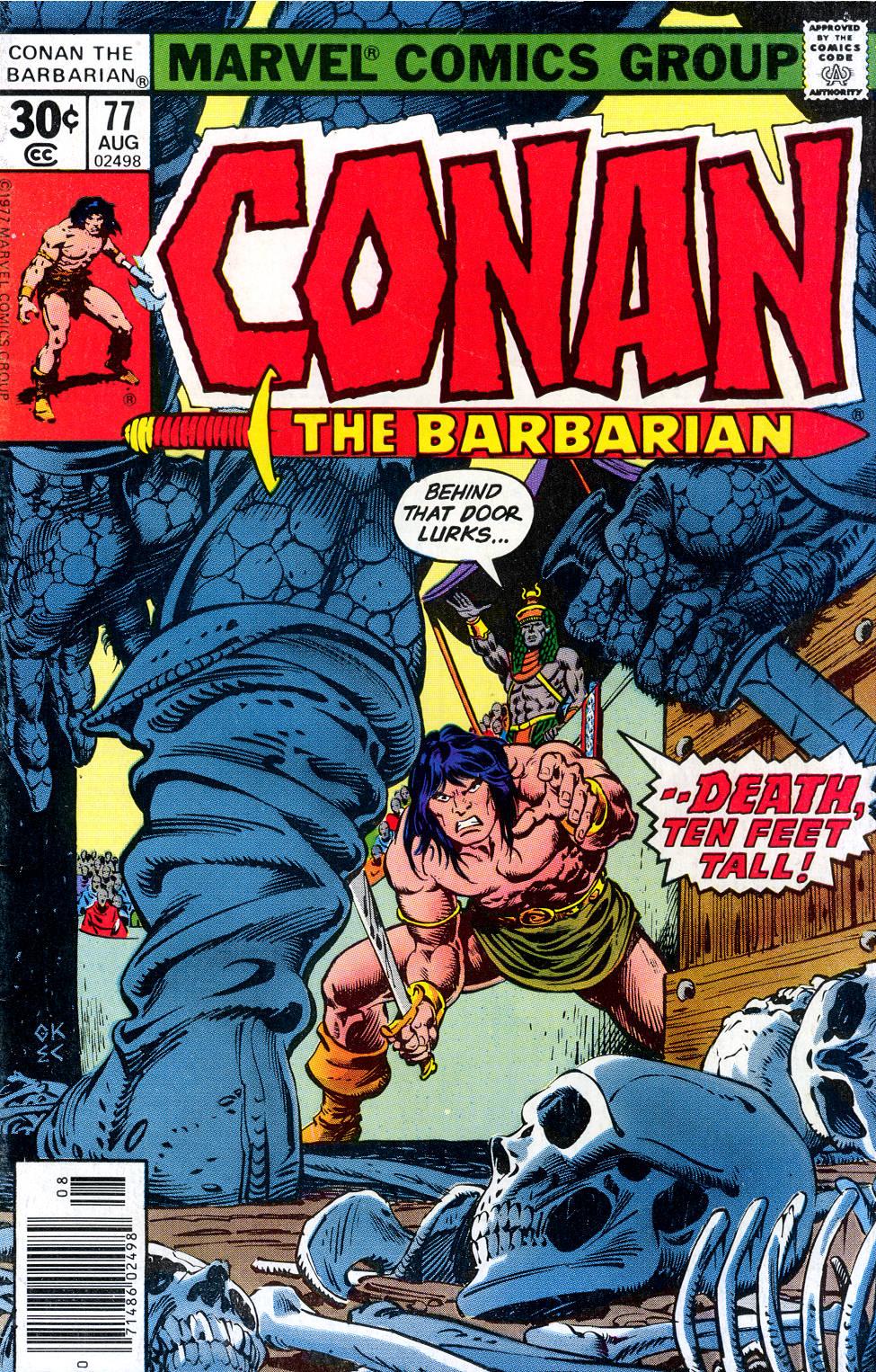 Conan the Barbarian (1970) Issue #77 #89 - English 1