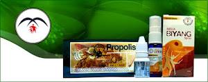 Propolis dan Biyang Melia Sehat Sejahtera