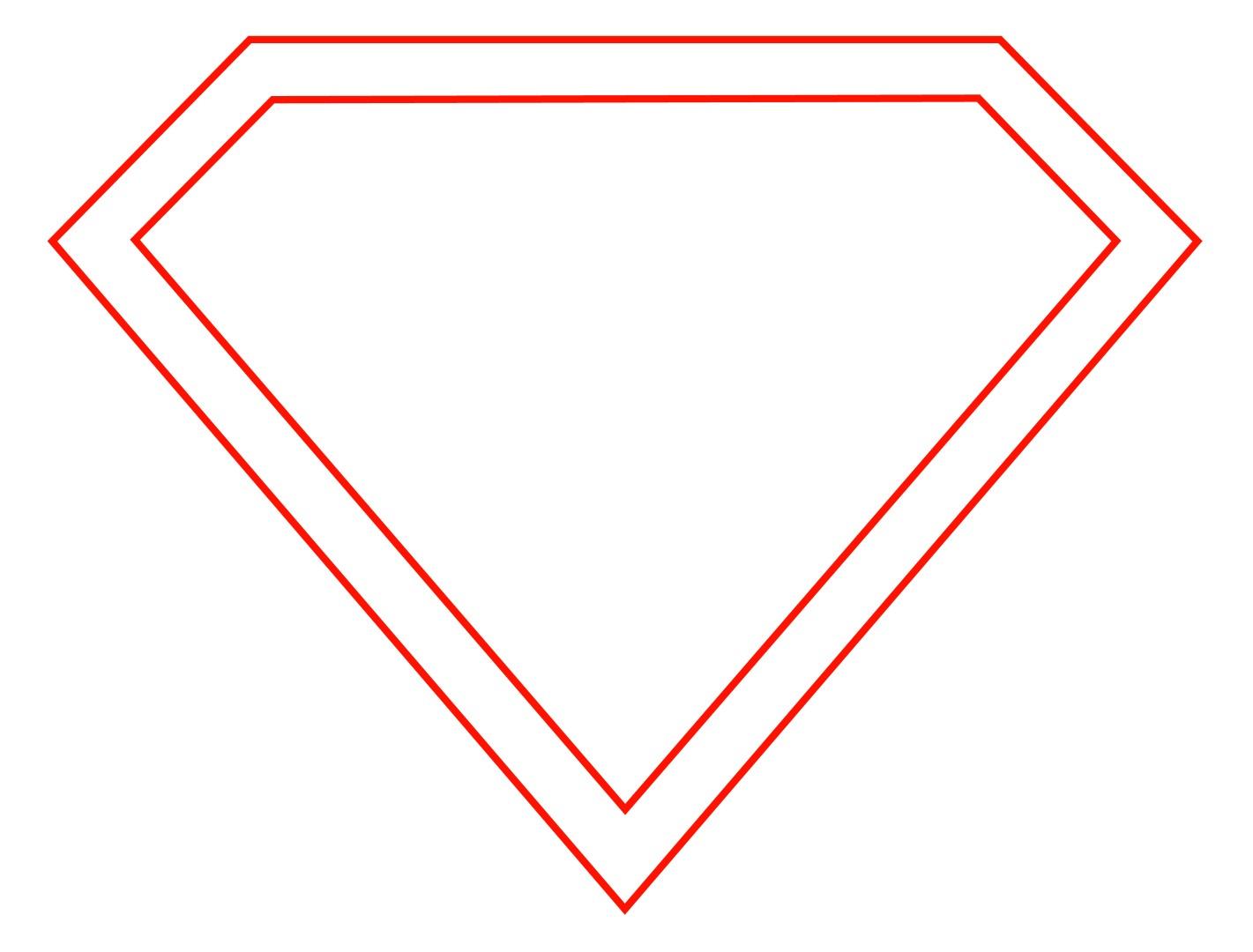 Superman Logo Outline Pages Docstoc Free Batman Symbol Insurance Images