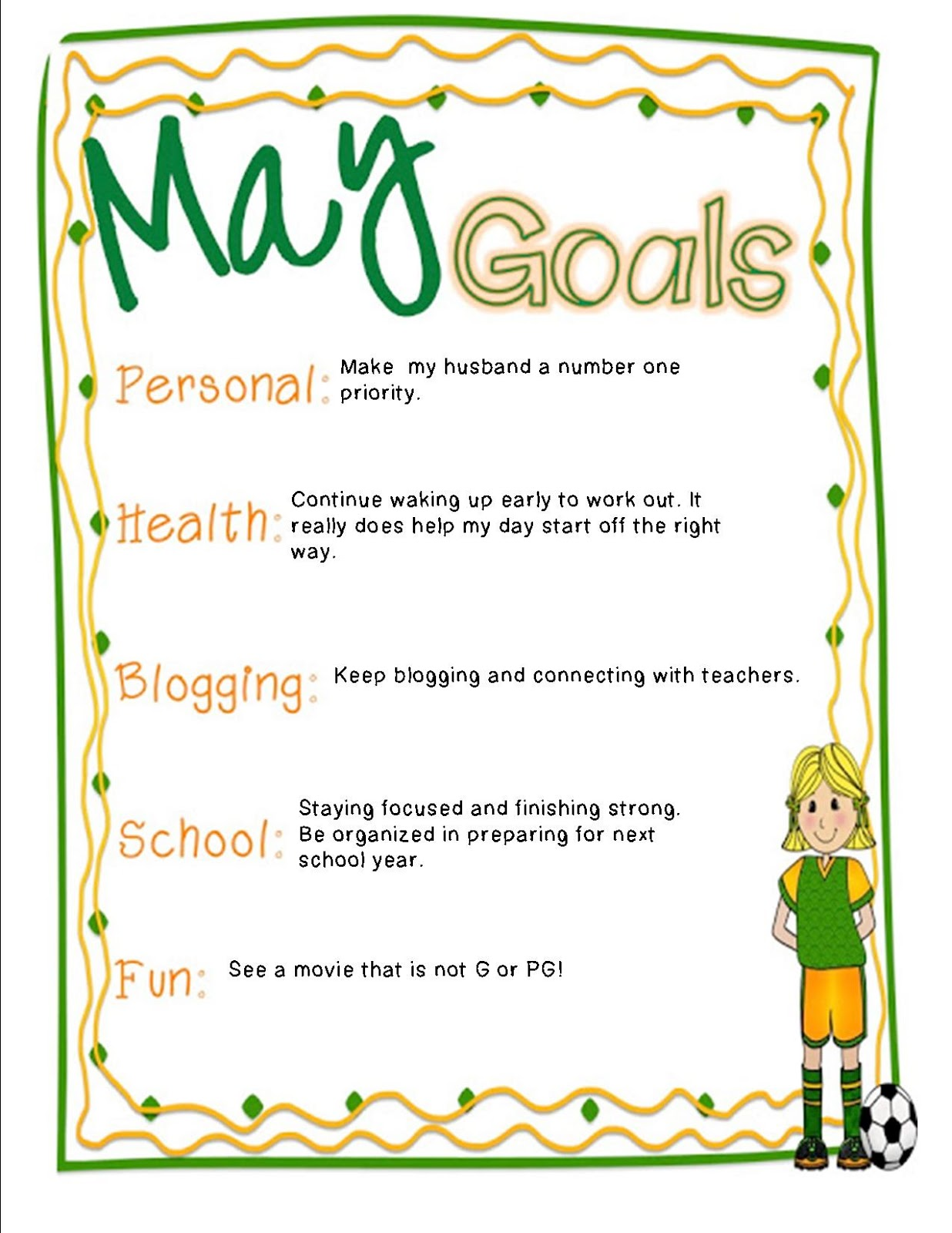 hodges herald goals linky party i am linking jess over at i heart recess to set some goals for