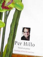 Vind Per Hillo maleri + kunstbog (værdi 3.400,00)