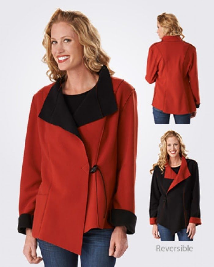 Sophia Reversible Jacket from Janska
