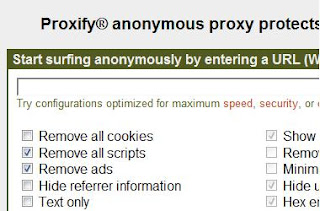 Proxify Homepage