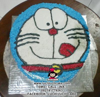 Kue Tart Kepala Doraemon Daerah Surabaya - Sidoarjo