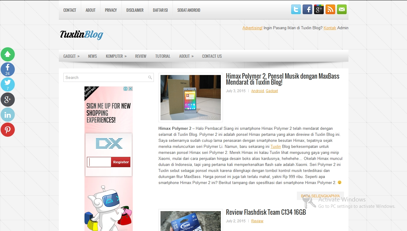 Kemitraan Bersama Tuxlin Blog