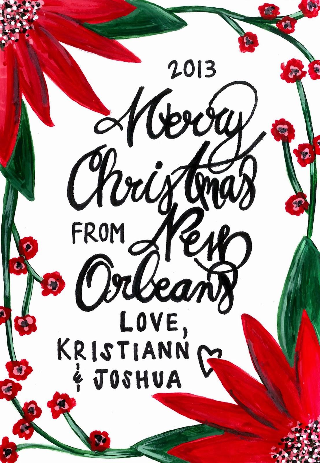 Blissful on the Bayou: MERRY CHRISTMAS 2013