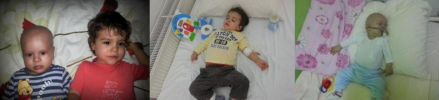 Jurnal de lupta - cu neuroblastomul(cancer) si megacolonul - Raul si Robi