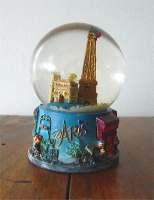 Palle di neve - Boule à neige - Snow globe - Paris