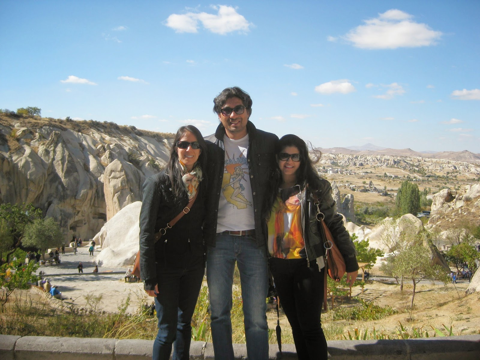 Cappadocia - Me with Trisha and Abhi