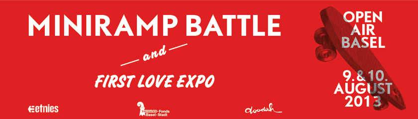 MINIRAMP BATTLE & FIRST LOVE EXPO