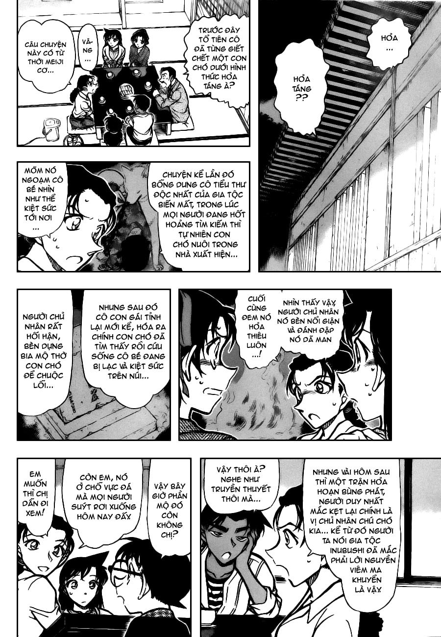 Detective Conan - Thám Tử Lừng Danh Conan chap 736 page 12 - IZTruyenTranh.com