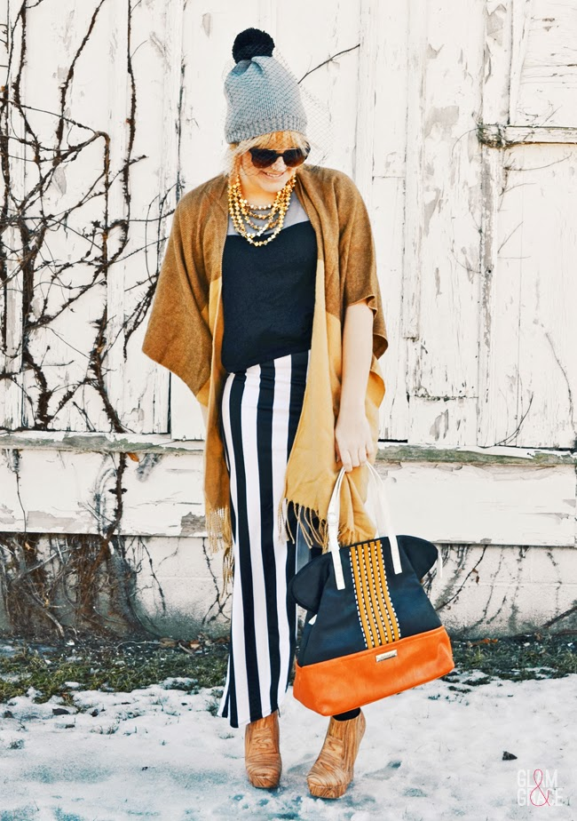 Akron Ohio Fashion - Stripes & Colorblocking