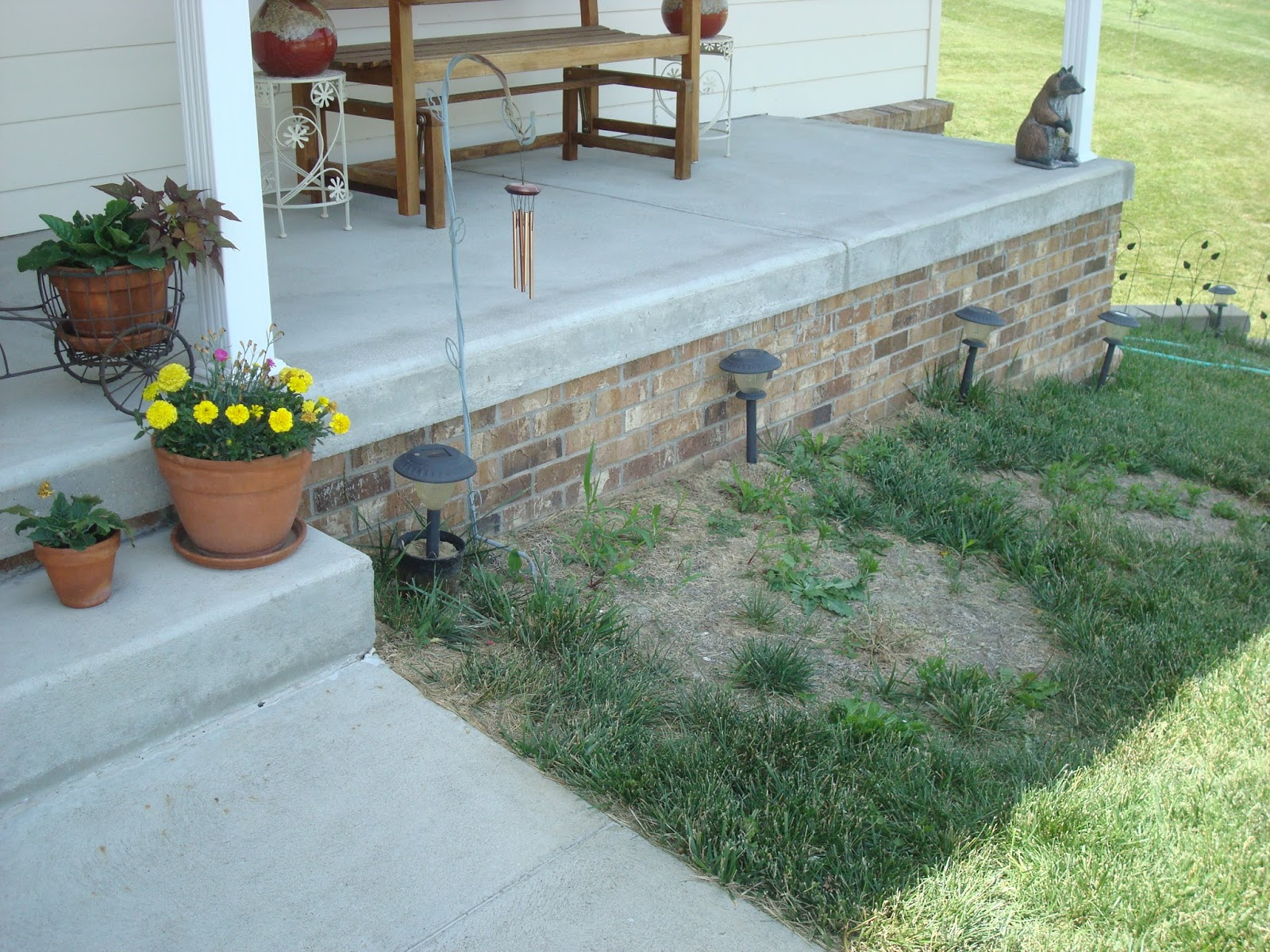 Dishing Up Design DIY Retaining Wall Amp Landscaping
