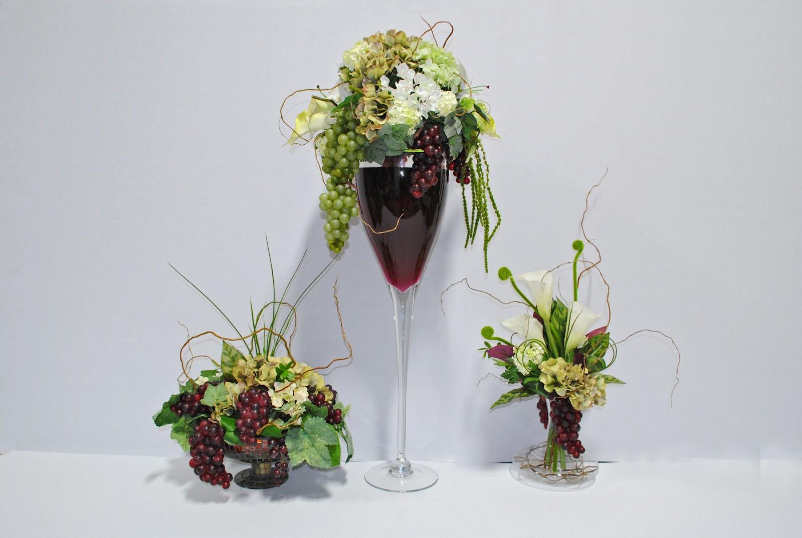 TTM Events Kelowna TTM Events Kelowna Wine Theme Floral Decor