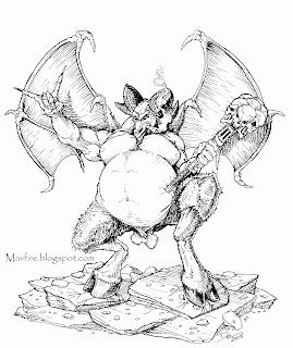 Orcus B&W by Del Teigeler, Mavfire