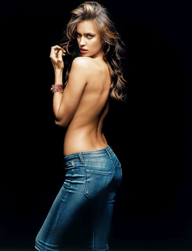 Irina Shayk – Replay Jeans 2011 Campaign