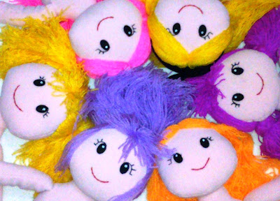 Hand Made Soft Doll by Tsabita Boneka