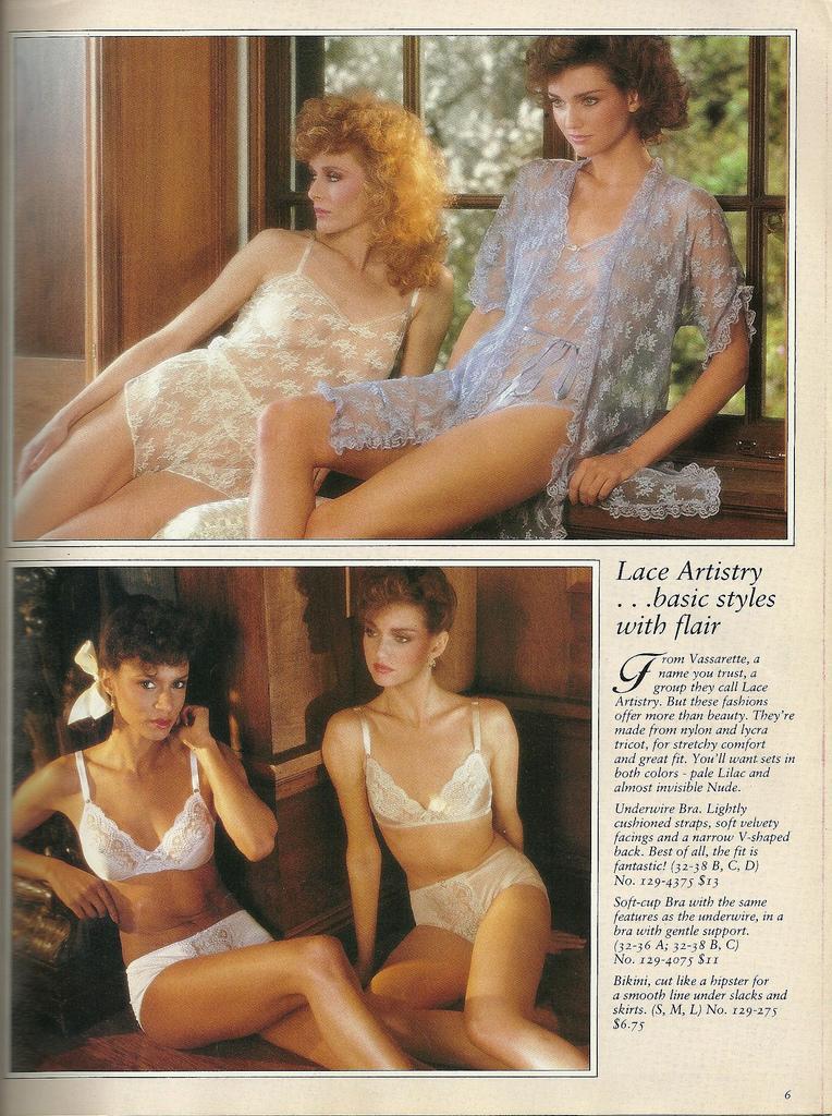 Vintage everyday 1982 victoria s secret catalog